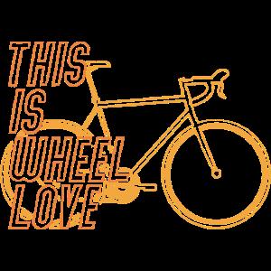 Rennrad Fahrrad Rennradfahrer This is wheel love