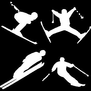 Winter Sport, Ski, Abfahrt, Piste - Design