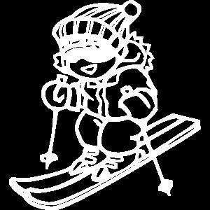 Cooler Skifahrer - Design