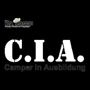 C.I.A. Camper In Ausbildung schwarz/weiß/schwarz
