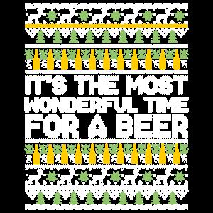 Die schönste Zeit für ein Bier