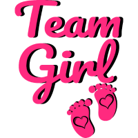 Team Girl I Baby Shower Party