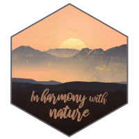 In harmony with nature - in Einklang mit der Natur