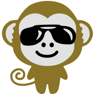monkey suglasses