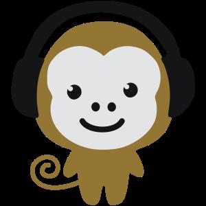 monkey_earphones