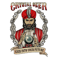 Wahrsager Kristallkugel