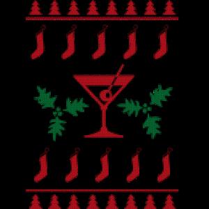 Ugly Christmas Sweater Martini