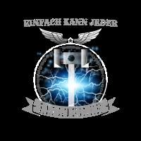 Elektriker Einfach Kann jeder Thors Hammer Shirt