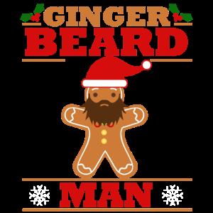 Lebkuchen Bart Weihnachten