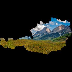 Oesterreich Berge Wald