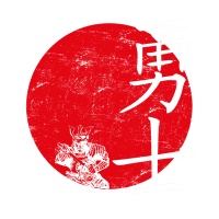 Krieger japanisches symbol
