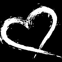 Herz Design Bürste Vektorgrafik