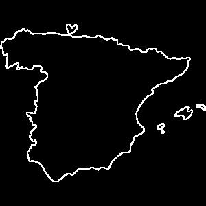 SPANIEN Herz