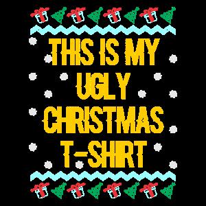 Das ist mein Ugly Christmas T-Shirt Spruch