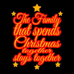 Familie an Weihnachten Geschenkidee