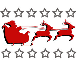 Trashy Weihnachtsschlitten