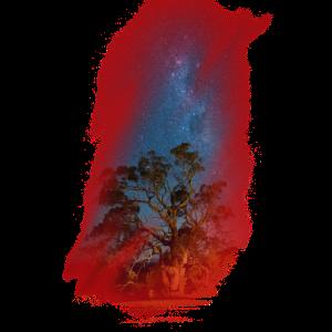 Galaxy Milchstrasse Geschenk Himmel