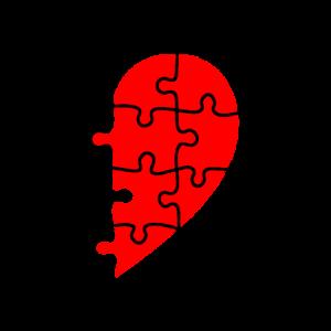 Partnerlook Herz Teil 2