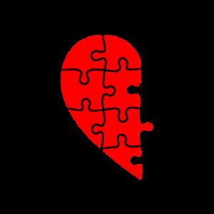Partnerlook Herz Teil 1