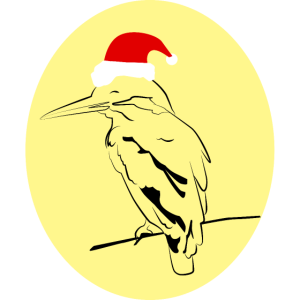 Weihnachts Vogel