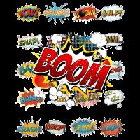 Comic BOOM - stereo comic nerd geek