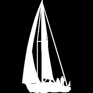 Segeln, Segelboot, Segelturn - Design