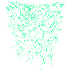 Alien Tribal / abstrakt