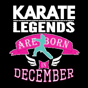 Karate-Legenden 2. Dezember Mädchen