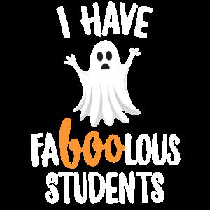 Fabelhafter (fabelhafter) Studentenlehrer Halloween