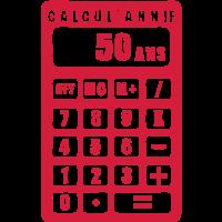 Rechner 50 Jahrestag