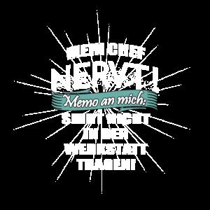 Fachmann Shirt · Werkstatt · Spruch Geschenk