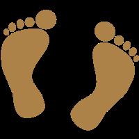 Fußabdruck