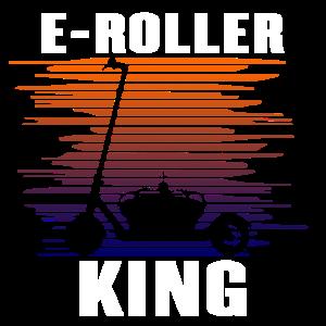 Elektroroller Cityroller E-Roller König Geschenk