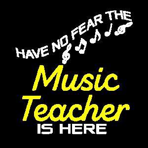 Musiklehrer Geschenk
