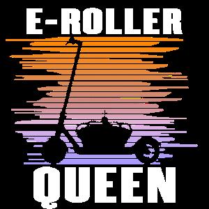 Elektroroller Cityroller E-Roller Königin Geschenk
