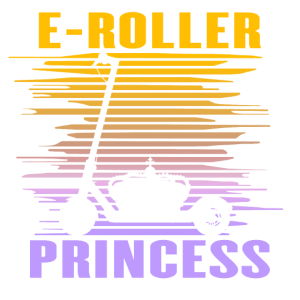 Elektroroller Cityroller E-Roller Prinzessin