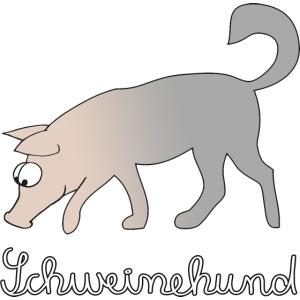 Schweinehund Hund Schwein