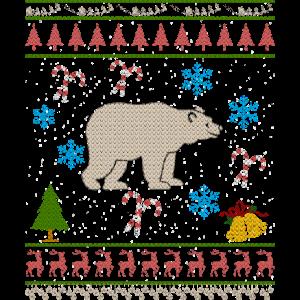 Bear Hunting Christmas hässliches Shirt Bärenjäger