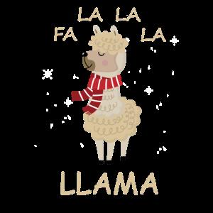 FA LA LA LA LLAMA FUNNY CHRISTMAS Gift