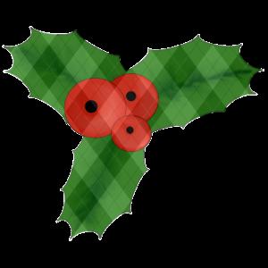 Mistel - Beere rot Blatt Weihnachten