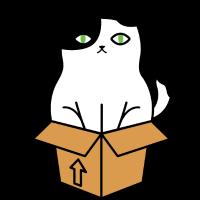 KATZE IN EINER Kiste