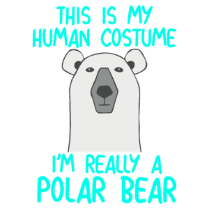 Human Costume Polar Bear