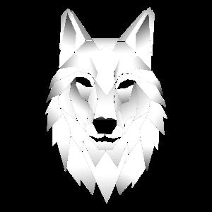 Wolf Polygon Effekt Tattoo Wölfe Geschenk