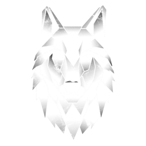 Wolf Polygon Poly Dreieck Tattoo Wölfe Geschenk