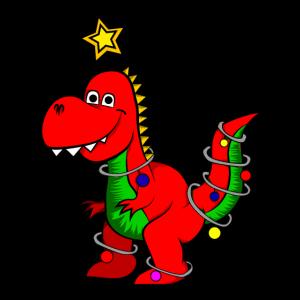 Weihnachts Dino