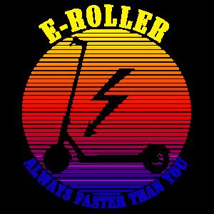 Elektroroller E-Roller Cityroller Geschenkidee