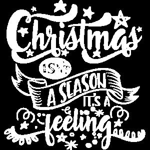 Christmas isnt a season it s a feeling white