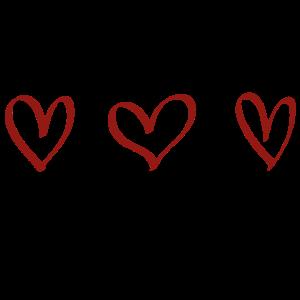 Herzen Geschenk Idee rot