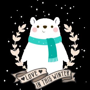 lustiges-süßes Eisbär Design