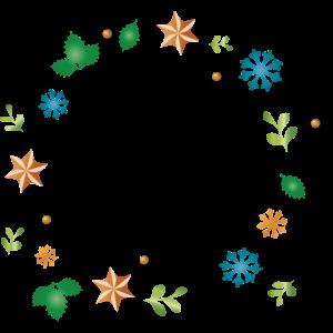 Symbole-Rahmen rund